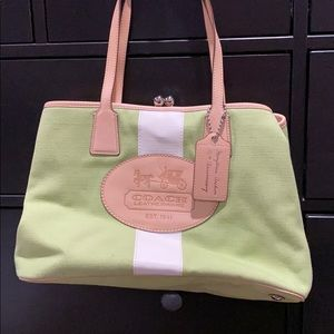 Coach Hamptons Archive 10th anniversary tote